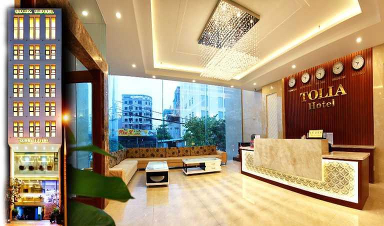 Khách sạn Tolia 3* Đà Nẵng - Ngay trước bãi biển Mỹ Khê