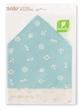 Sét 2 Yếm xô tam giác Lullaby xanh , kem