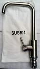 Vòi rửa bát nóng lạnh inox 304 cắm chậu cần vuông 802