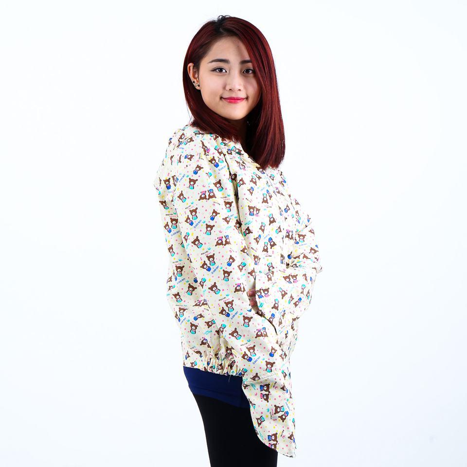 Áo chống nắng 2 lớp kèm khẩu trang hoạt tính - nhiều mẫu họa tiết - chống nắng, bụi, bảo vệ sức khỏe và làn da - giảm giá sốc tại MuaChung
